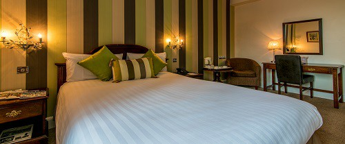 A Double Room at The Bedford Hotel in Tavistock