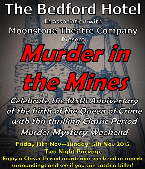 Murder mystery weekend at The Bedford Hotel in Tavistock, Devon
